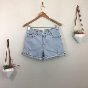 Calvin Klein Jeans- vintage denim shorts